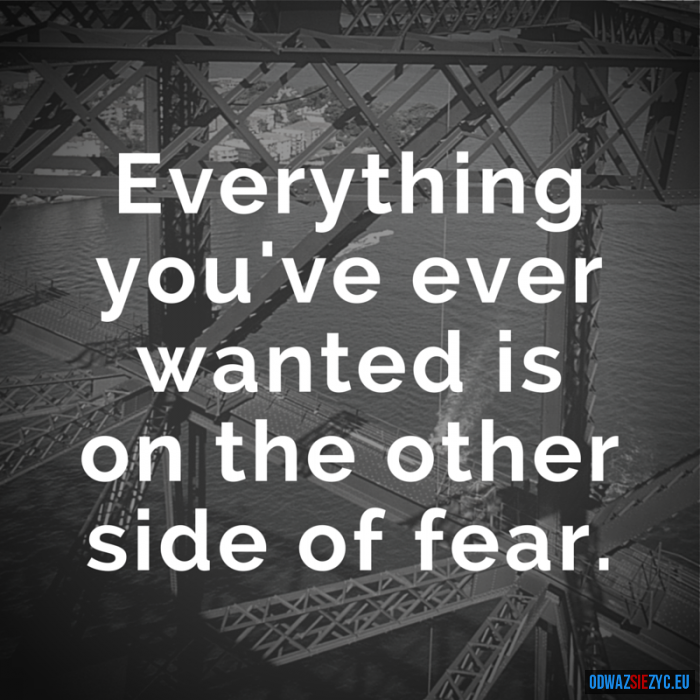 Other side of fear - BS