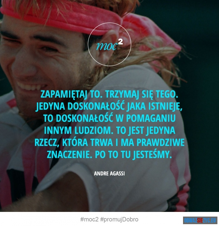 Ideał - Andre Agassi