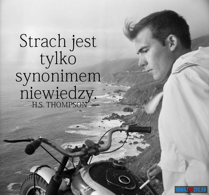 STRACH - Hunter S. Thompson